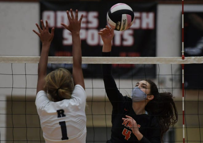 Ames outside hitter Lola Campbell is an infectious leader for her teammates.