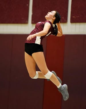 Beaver senior Eden McElhaney set aside personal milestones in order to focus on helping Beaver navigate the move to Class 3A. The Bobcats responded with an undefeated regular season record.