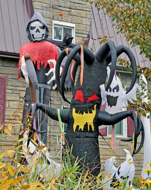 These three spooky characters will frighten children trick-or-treating in Wooster.