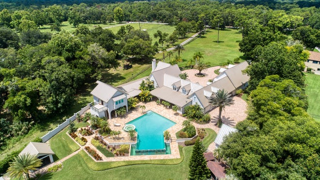 Surprises abound in this sprawling six-acre Ormond Beach estate on the Tomoka River.