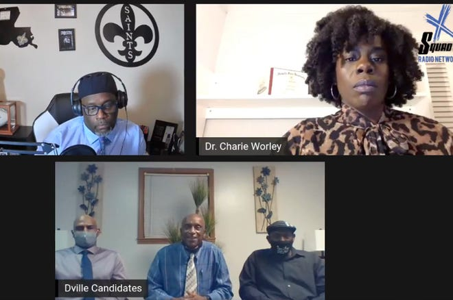 Candidates who declined an invitation to the Donaldsonville Area Chamber of Commerce election forum appeared on a podcast last week to share their platforms.