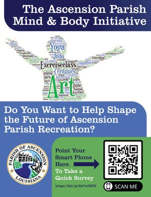 The Ascension Parish Mind and Body Initiative seeks to shape the future of recreation.