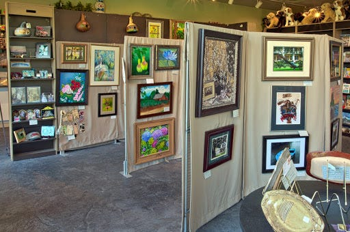 River Region Art Association Depot Gallery is posting its new days and hours for visitors.