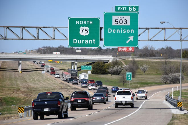 Spur 503 is just one of the Texoma roadways that will be under construction this week.