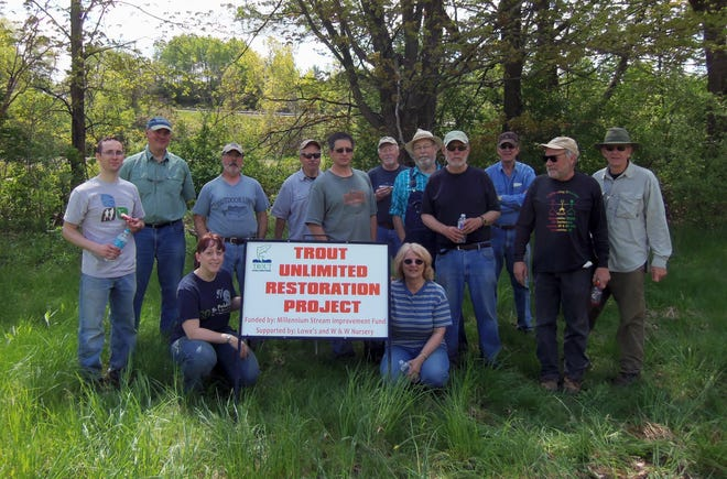 The Canandaigua Lake Chapter of Trout Unlimited is active in projects that help conserve habitat for trout in local waters.