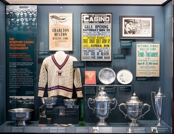 The museum at the International Tennis Hall of Fame will be closed for the winter months. [The Providence Journal, file]