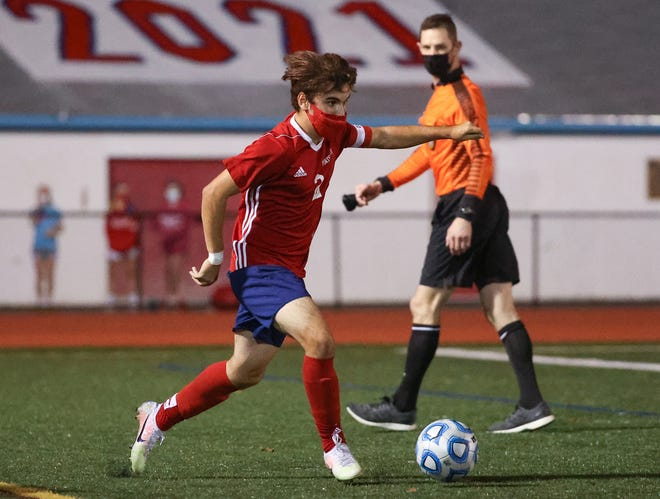 Portsmouth faces North Kingstown in boys soccer on Tuesday night.