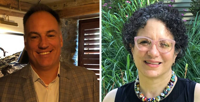 Charlie Holder and Kim Salerno are trying to fill the Ward 2 seat on the Newport City Council that will be vacated by Lynn Underwood Ceglie, who is running for an at-large seat.