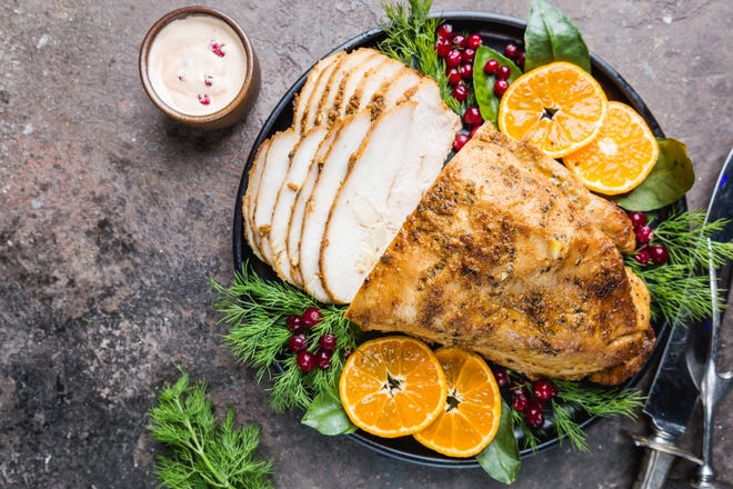 Thanksgiving dinner this year may not look the same as last year's because of smaller gatherings and COVID-19 precautions during the pandemic.