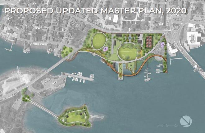 Phases outlined for the Prescott Park Master Plan Implementation in Portsmouth.