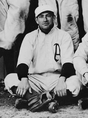 Lou Castro, circa 1902, with the Philadelphia Athletics. Castro played only one season of Major League Baseball.