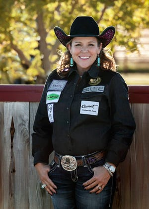 Stephenville native JJ Hampton will compete in breakaway roping in next month's first-eve Women's Rodeo World Championship in Fort Worth. Hampton was recently named the 2020 CPRA Breakaway Roping Champion.