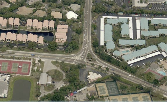 Sarasota County plans to build a roundabout at Midnight Pass and Beach roads.
