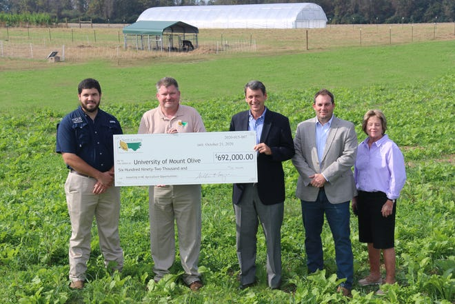 UMO receives grant for new AgPrime program. [CONTRIBUTED PHOTO]