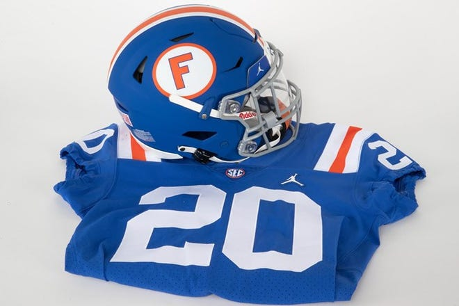 Florida's outfit for Missouri game