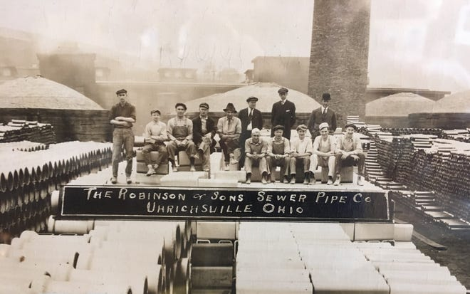 Margery Brakebill's father owned the Robinson & Sons Sewer Pipe Company in Uhrichsville.