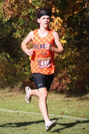 Junior Sebastian Stewart and the Delaware Hayes boys and girls cross country teams wrapped up the season in Division I district meets Oct. 24 at Hilliard Darby.