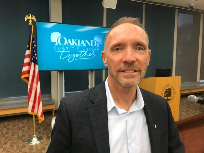 Oakland County Executive Dave Coulter