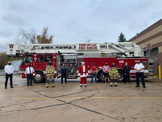 The Bucket Brigade members from KFIZ, 107.1 The Bull, the Fond du Lac Fire and Rescue Local 400, Michels Corporation and The Salvation Army will start collecting donations for The Salvation Army Red Kettle Campaign a month early on Nov. 6.