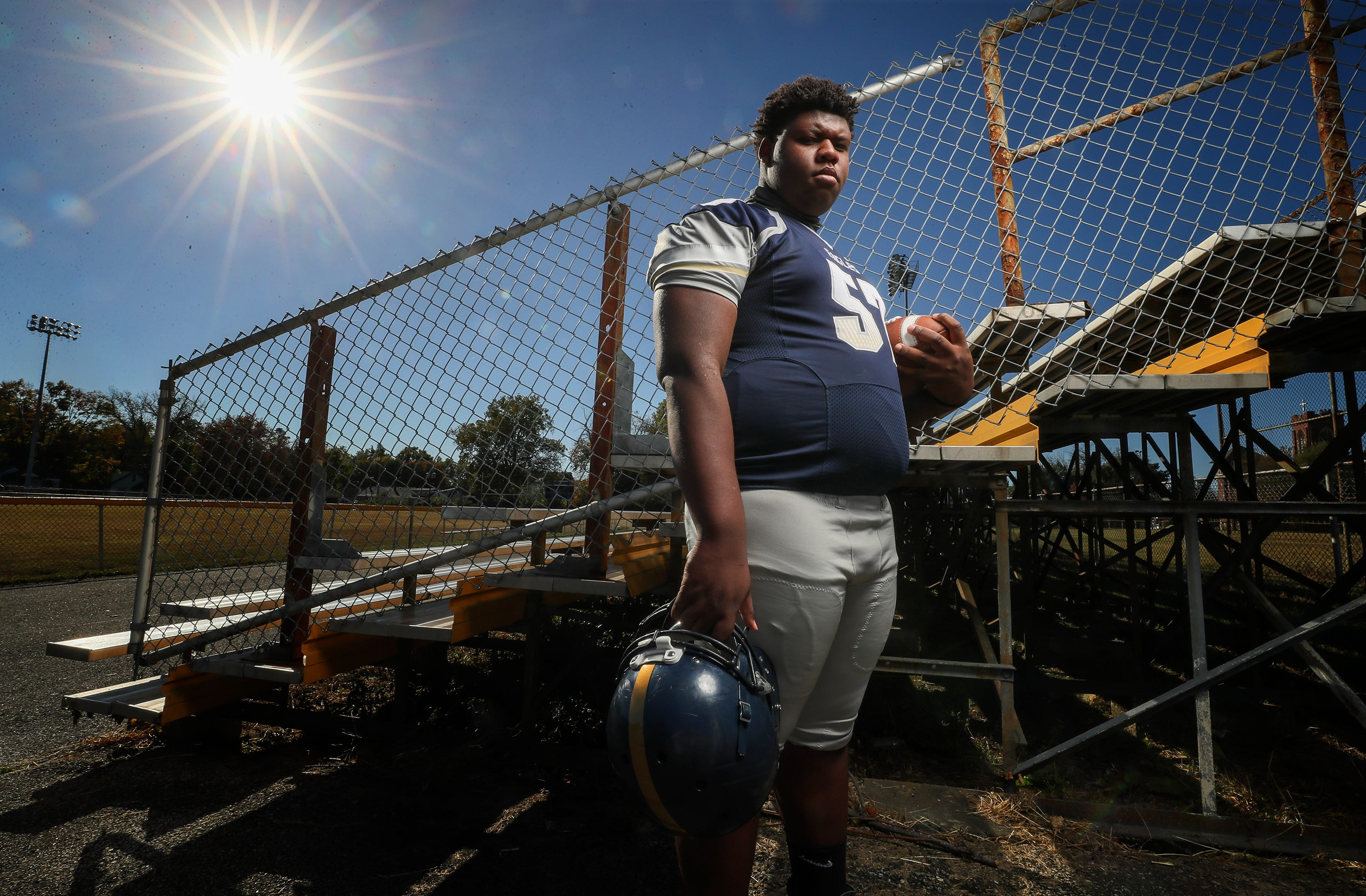 Shawnee football player Clayton Wickliffe says he'stired of how the rest of Louisville treatshis community — and his school.