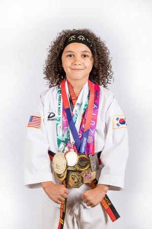Lebanon youngster and international taekwondo standout Joshua Aguirre has added to his collection of medals recently.