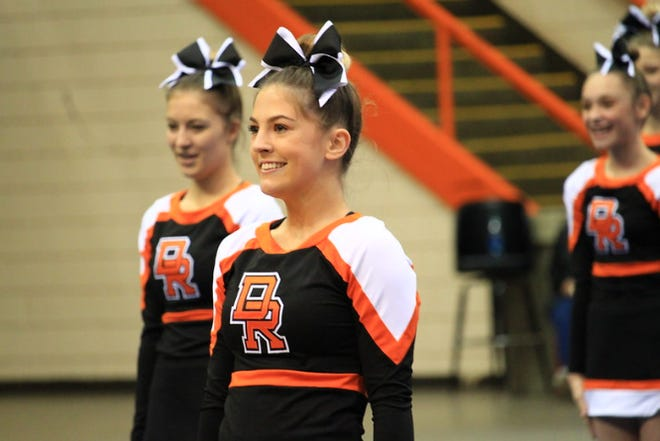St. Mary and Dell Rapids competed in the state competitive cheer and dance competition Saturday, Oct. 24 in Rapid City.