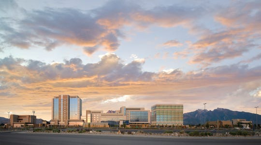 The Intermountain Healthcare campus is shown in Salt Lake City, Utah.