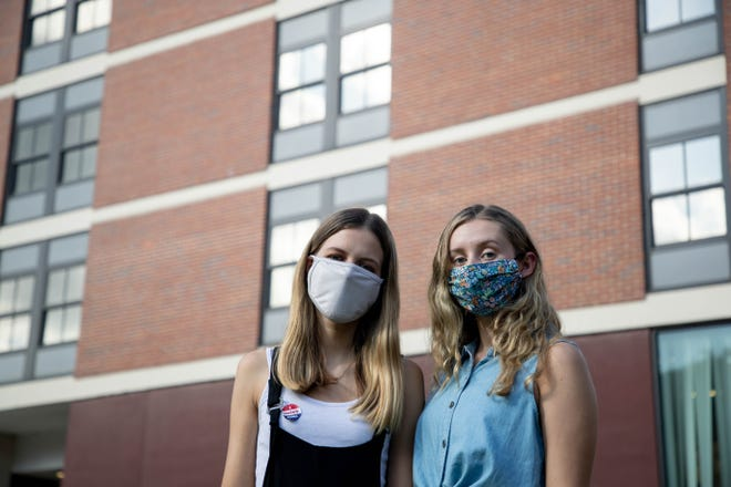 Florida State University sophomores Georgina Patient and Natalie Bailey tested positive for COVID-19 and were quarantined in Salley Hall on campus together.
