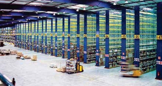 A distribution center. A similar warehouse could be built in Martin County for an e-commerce business.