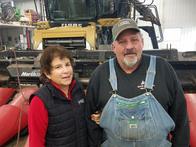 Charlie Hammer and Nancy Kavazangian are one of five nominees for the Wisconsin Leopold Conservation Award.  They raise corn, soybeans and wheat on their Dodge County farm and have utilized numerous innovative systems to conserve soil, protect the environment and improve production on their farm.