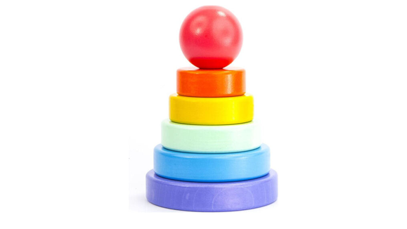 Best gifts for babies: A wooden stacker