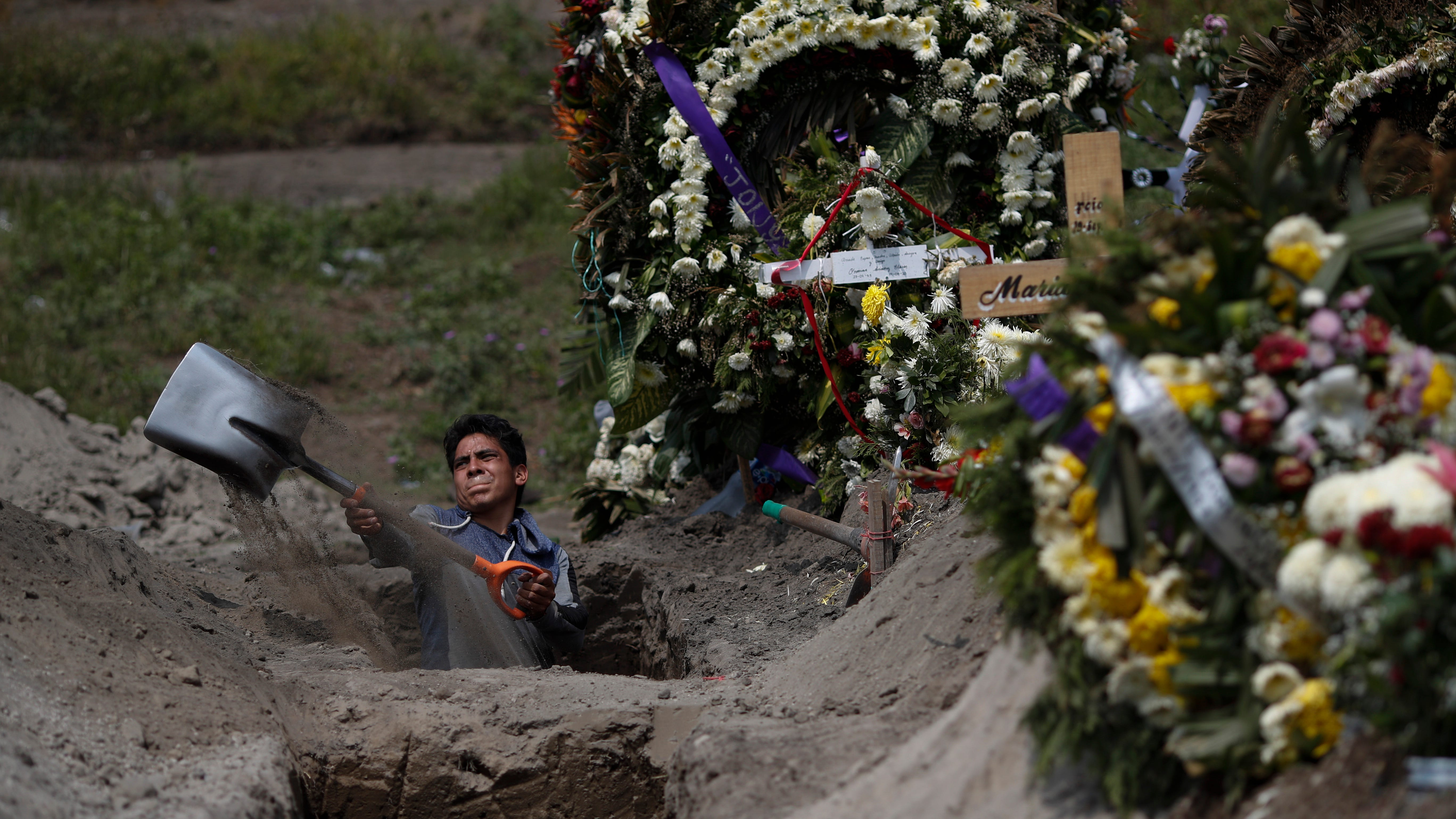 New cases surge; Mexico deaths; Mike Pence aides positive