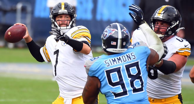 Ben Roethlisberger and the Steelers remain the league's only undefeated team.