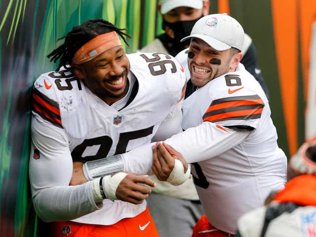 Cleveland Browns QB Baker Mayfield is AFC Offensive Player of the Week