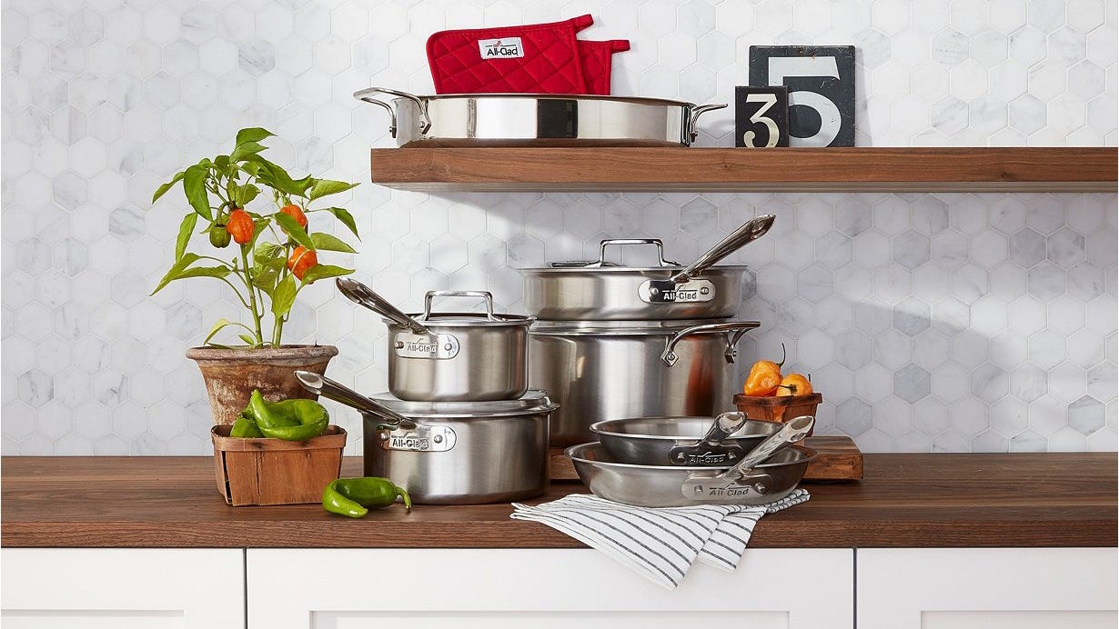 All-Clad cookware is majorly discounted at Macy's right now