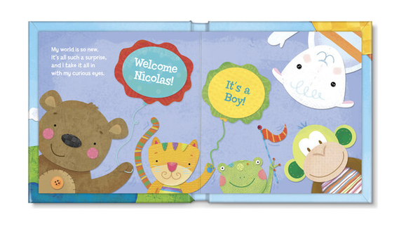 Best gifts for babies: A personalized book