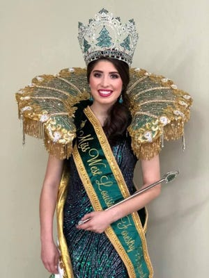 Ashley Gorrell the 68th West Louisiana Forestry Festival Queen.
