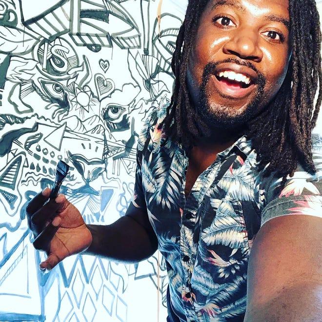 Artist Amiri Farris