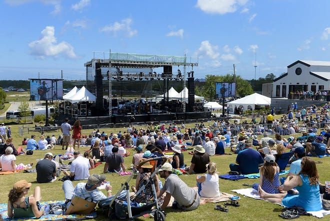 A file photo of the Savannah Music Festival Finale in 2018, which utilized the newly renovated space at Trustees' Garden. SMF will return to the venue for 2021 with social-distance rules and COVID-19 procedures in place.