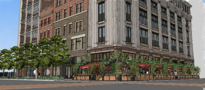 Grande Rue French bistro plans to take over the former Brioso Coffee space on the northeast corner of Gay and High streets Downtown.