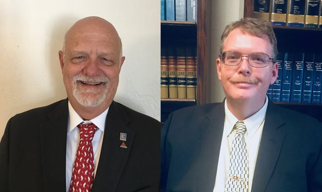 Tavares City Council Republican Challenger Walter Price, left, and Tavares City Council member Roy Stevenson. [Submitted]