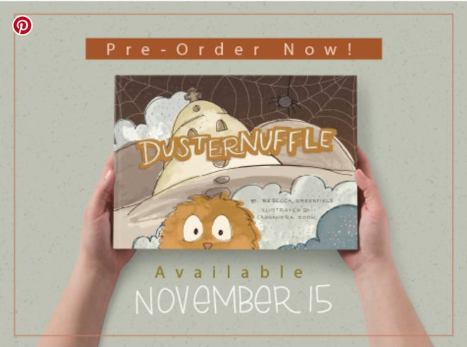 "Cassandra Zook of Orrville did the illustrations for ""Dusternuffle,"" a children's book written by Rebecca Greenfield of New Albany."