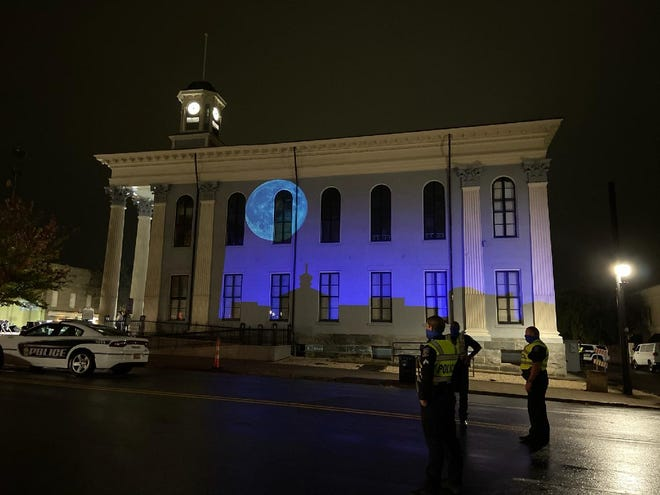 Lexington officials named the project to remove the Confederate statue on Oct. 16 'Operation Blue Moon' in reference to something that is rare and unique.