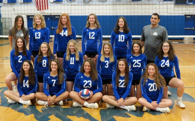 Ellwood City girls volleyball team earned the No. 2 seed in the Class 2A bracketon Monday.