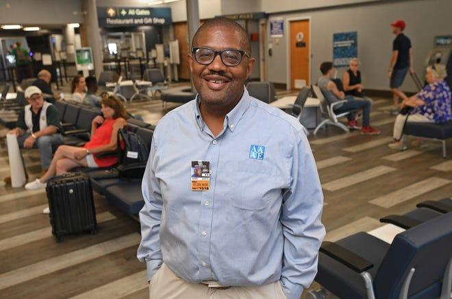 Derek Martin, executive director of Erie International Airport.