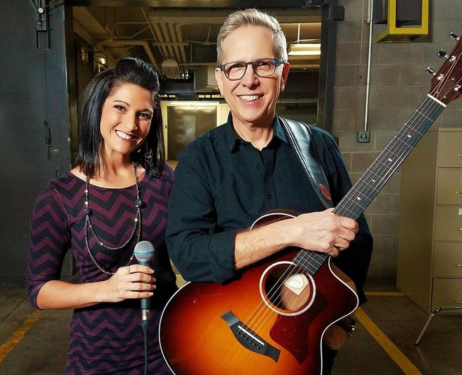 Kayti Stadler and Scott Campbell of SASS Acoustics are scheduled to perform Friday at the Colony Pub in Millcreek Township.