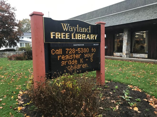 The Wayland Free Library will be the first in the area to provide the Words on Wheels program  for the most vulnerable citizens.