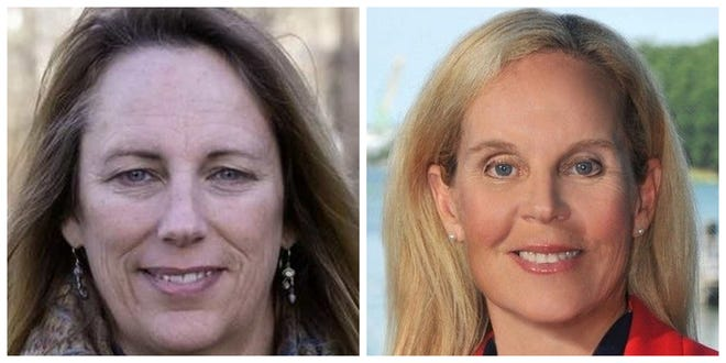 Democrat Mindi Messmer, left, and Republican Janet Stevens are competing for the N.H. Executive Council in District 3.
