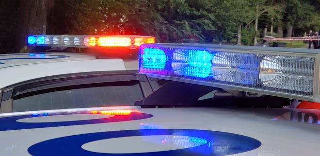 Jacksonville police cars.