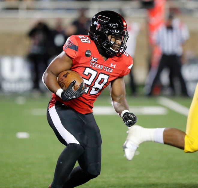 The Red Raiders have had to rely on Tahj Brooks the past two games because of injuries to SaRodorick Thompson and Xavier White. Against West Virginia and Oklahoma, Brooks has a combined 24 carries for 74 yards and a touchdown.